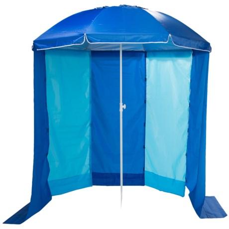 Abo Gear 2 In 1 Beach Umbrella Cabana See Photo