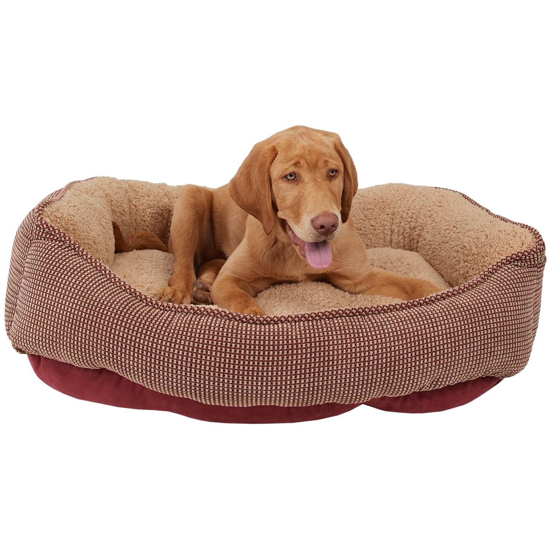 The Snuggler Dog Bed