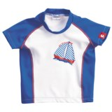 Camaro Rash Guard - UPF 50+, Short Sleeve (For Toddler Boys)