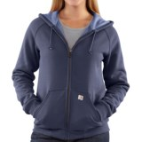 Carhartt Thermal Lined Hoodie Sweatshirt - Full Zip (For Women)