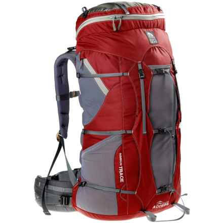 granite gear nimbus trace access 70 backpack in redmoonmist closeouts