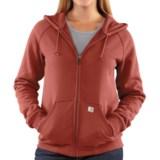 Carhartt Thermal Lined Sweatshirt - Full Zip (For Women)