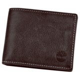 Timberland Cow Crunch Leather Slimfold Wallet