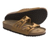 Birkenstock Granada Sandals - Leather, Soft Footbed (For Women)