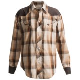 Roper Broadcloth Plaid Shirt - Snap Front, Long Sleeve (For Boys)