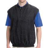 Smith & Tweed Microsuede Vest (For Men)