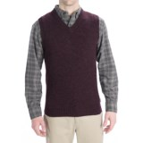 Woolrich Beacon Sweater Vest - Shetland Wool (For Men)